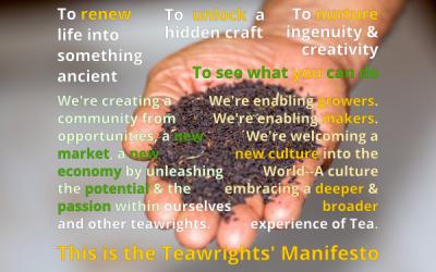 The Teawrights' Manifesto